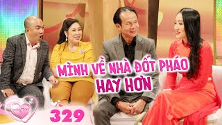 THE NEWLYWEDS   Ep 329 FULL: Man in his 60s takes country girl to bed on Lunar New Year
