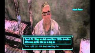 Fallout New Vegas Arcade Gannon Quest (Remnant Power Armor) Part 1