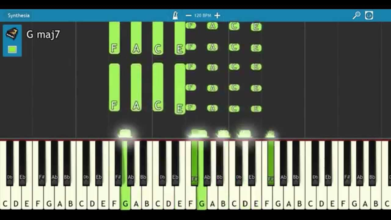 How to play major seventh chords easy beginner learn piano 2day how to play major seventh chords easy beginner learn piano 2day hexwebz Choice Image