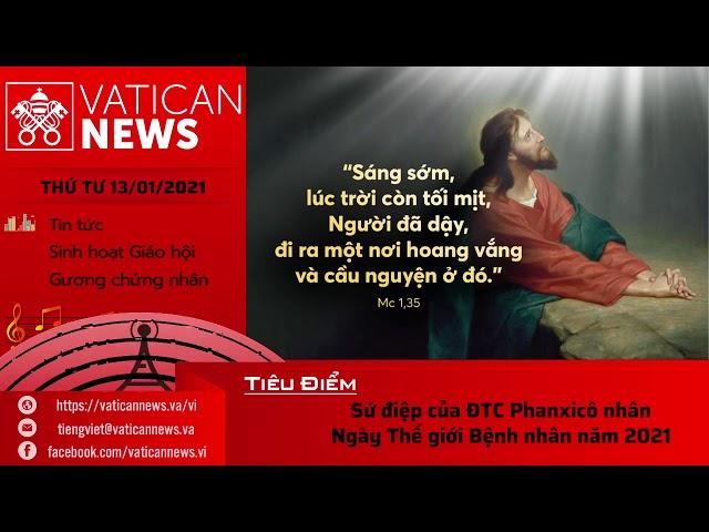 Radio: Vatican News Tiếng Việt thứ Tư 13.01.2021