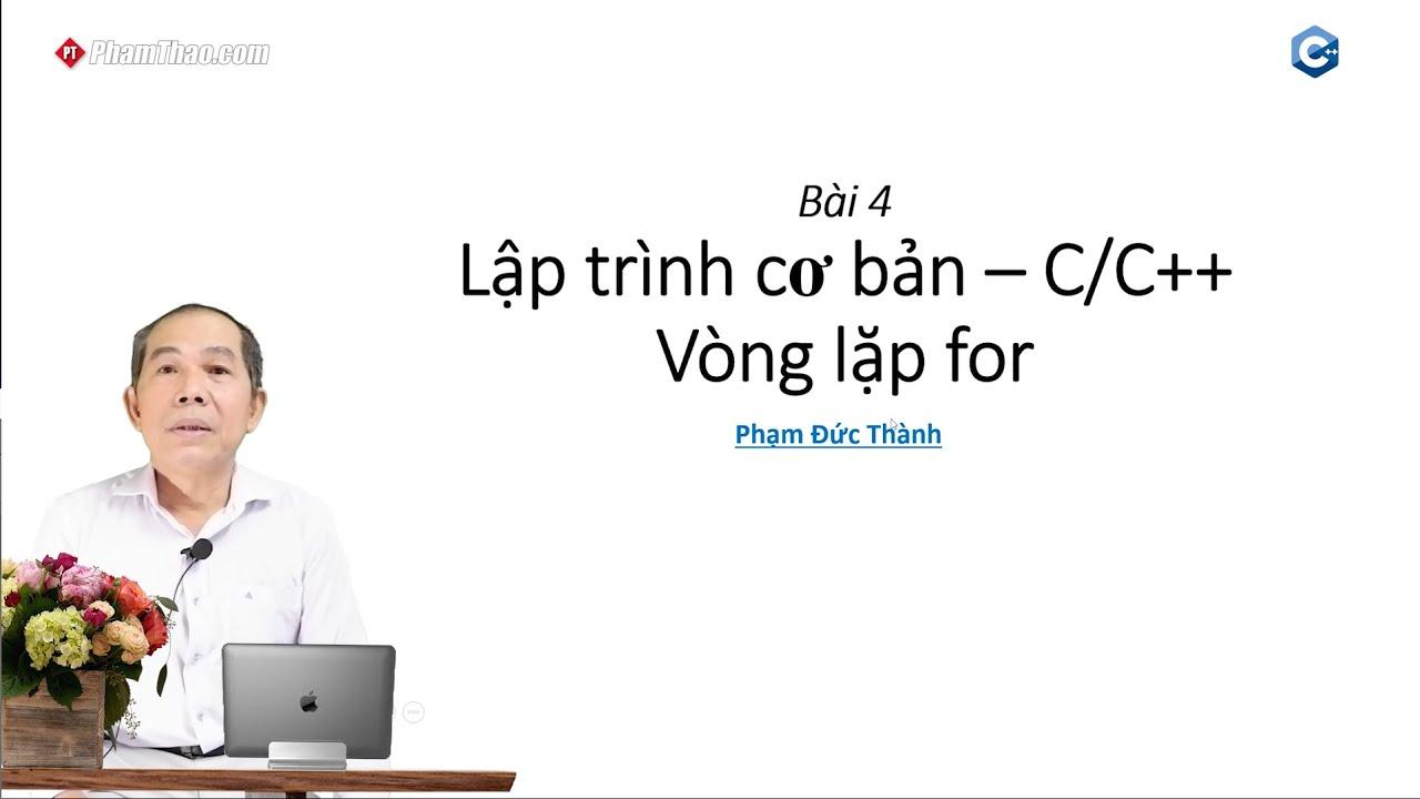 Lập trình C/C++ cơ bản 3: Cấu trúc điều khiển switch...case - thầy ...