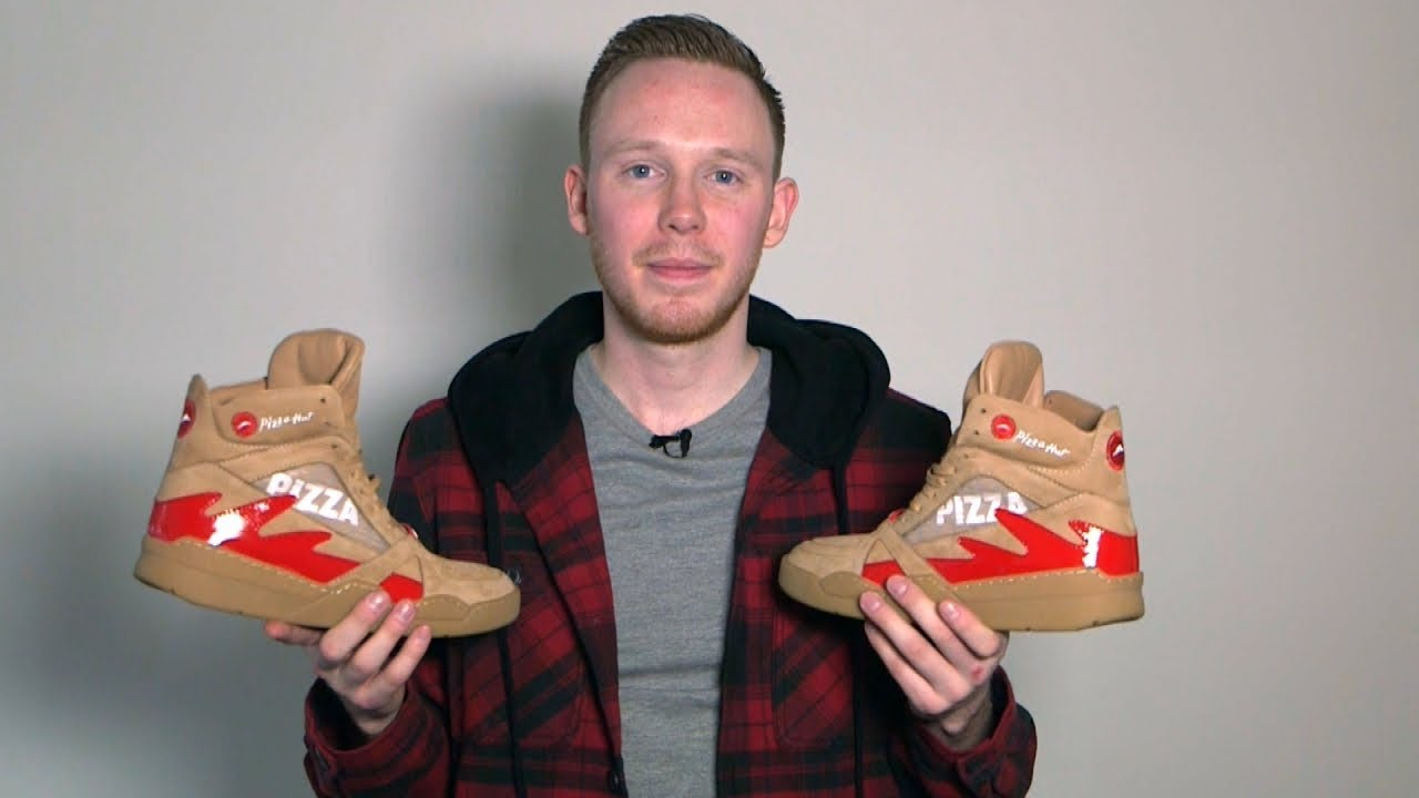 1b34ad7a48cd We Asked a Sneakerhead to Try Out Pizza Hut s Pie Tops II Sneakers ...