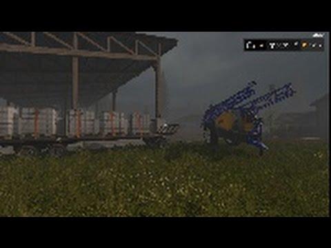 Farming SImulator 17 EP 4 Sprayer and Chemical Trailer