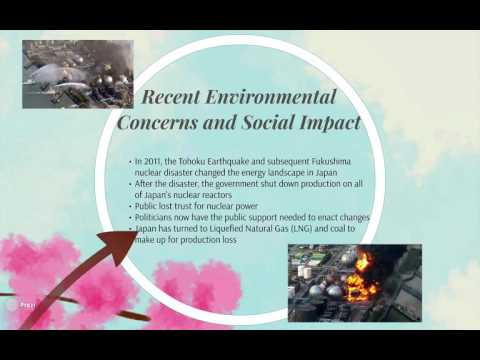 BTTM4130: Global Energy Development -Japan Watch - Energy Production in Japan