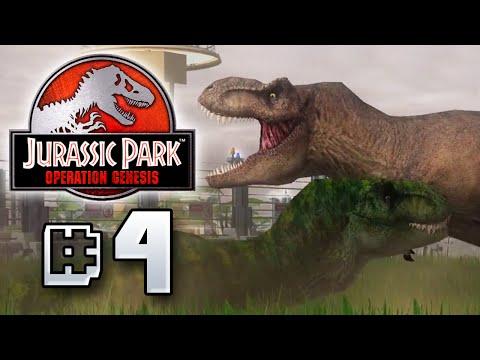 T.Rex Tantrum! - Jurassic Park Operation Genesis [ Jurassic Park Month ]
