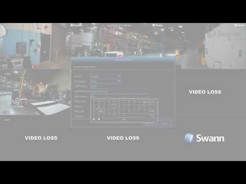 Swann DVR Security System Setup Wizard - initial setup