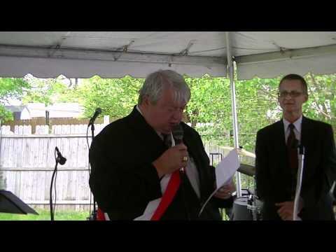 Polish Constitution Day in Cleveland -- John Borkowski