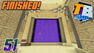 Sand Tunnel Finished (with a little help from TizzTom)!  - Truly Bedrock S2E51