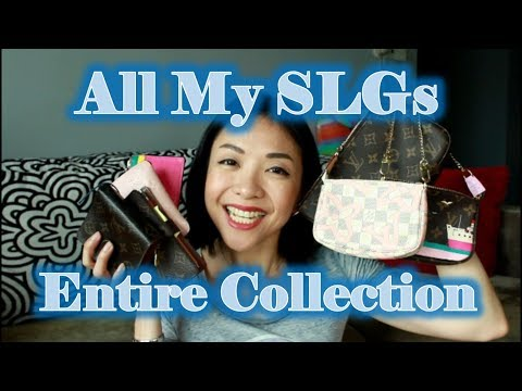 My Entire SLG Collection | Chanel, LV, Coach, Kate Spade | Kat L