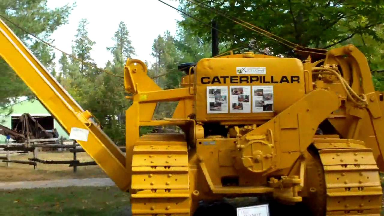1958 Caterpillar D7 Pipelayer Model 572C by twistedmindsalike