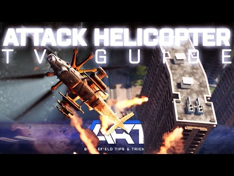 BF4 Attack Helicopter TV Missile Guide - Duels