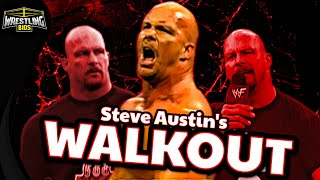 The Story of Steve Austin's WWE Walkout