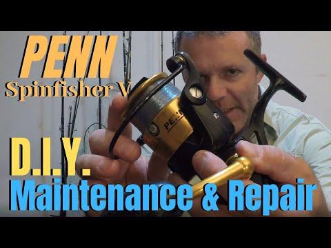 Fishing Reel Maintenance | Penn Spinfisher V