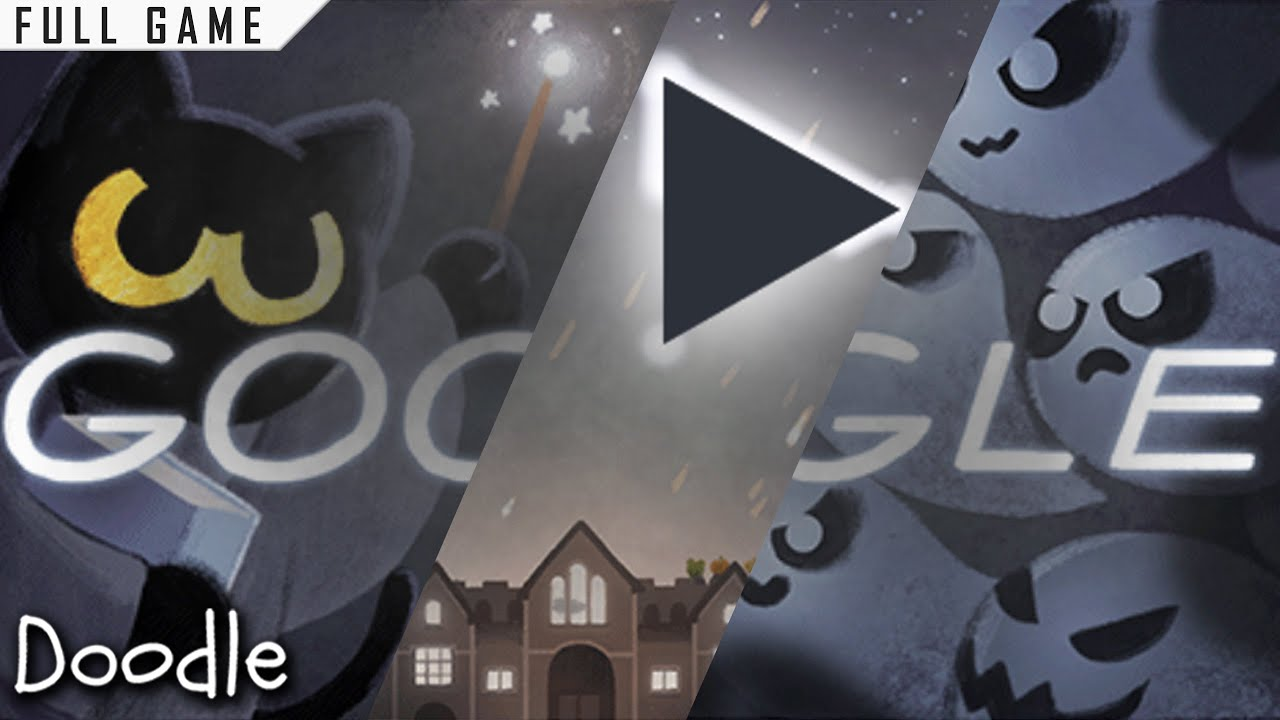 Google Doodle Halloween 2016 Magic Cat Academy Full Game Youtube