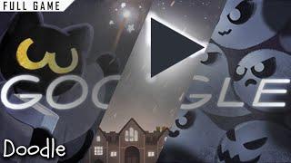 Google Doodle: Halloween 2016 (Magic Cat Academy) | Full Game