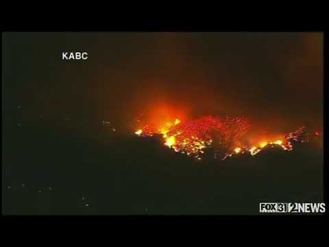 New Southern California wildfire   Wednesday, 6 December 2017