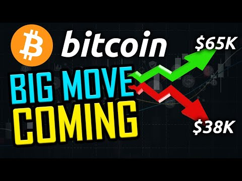BITCOIN GEARING UP FOR A MASSIVE MOVE!! ($65k or $38k!!)