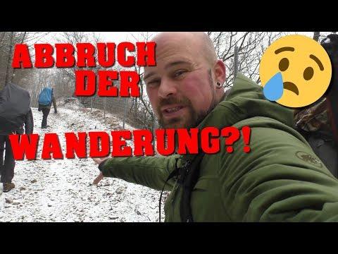 Hermannsweg - ABBRUCH! - Tag 3