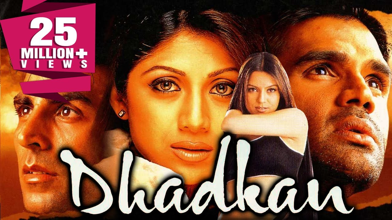 Download Dhadkan (2000) Romantic Full Movie   Akshay Kumar, Shilpa Shetty, Suniel Shetty, Mahima Chaudhry