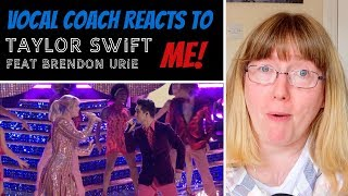 Vocal Coach Reacts To Taylor Swift Me! Ft. Brendon Urie Live The Voice 2019