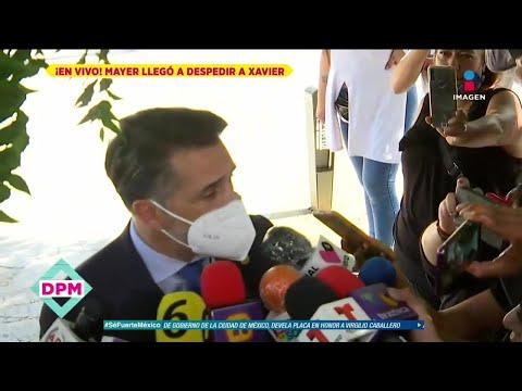 Sergio Mayer se quiebra al salir del Semefo tras reconocer a su amigo Xavier Ortiz | De Primera Mano
