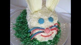 EASTER BUNNY CAKE | How to make BUNNY CAKE Demonstration