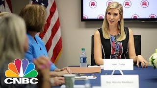 Ivanka Trump Tackles Child Care Tax Credits | CNBC