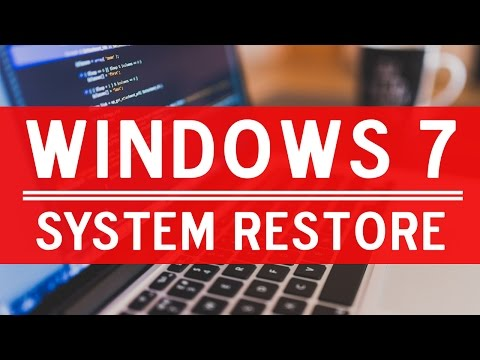 Window 7 System Restore || Hindi Tutorials