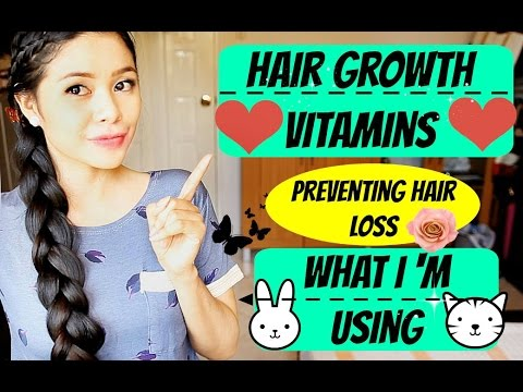 Vitamins For Hair Growth And Preventing Hair Loss -What I Personally Use