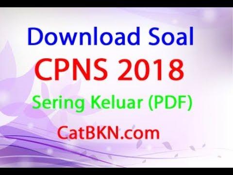 Download Soal Cpns 2018 Pdf Dan Kunci Jawabannya Satu Web Id