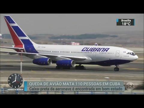 Caixa-preta de avião que caiu em Cuba é encontrada   SBT Brasil (19/05/18)
