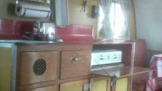 "1946 C.D. BARGER- Vintage ""Canned Ham"" Travel Trailer"