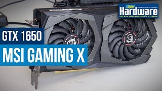 MSI GTX 1650 Gaming X 4G | Unboxing | Spezifikationen | Ersteindruck