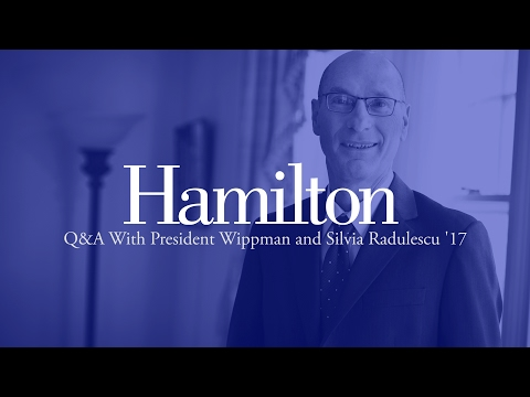 Q&A With Hamilton College President David Wippman