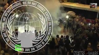 Anonymous - Operation Hong Kong Protest