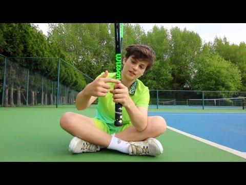 #70 My tennis racket explained  - tB 2017