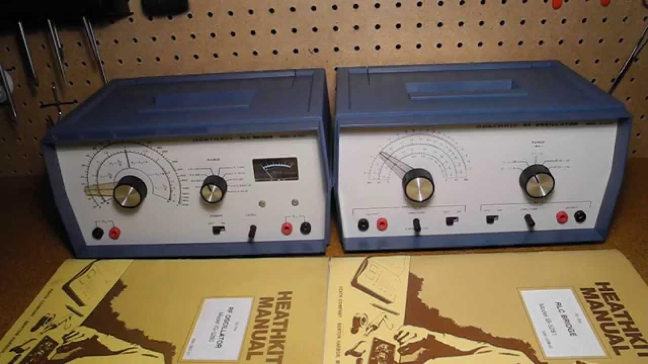 The Heathkit Ig 5280 Rf Oscillator And Ib 5281 Rlc Bridge Youtube Oscillators Basic Tank Circuit 1 Doovi