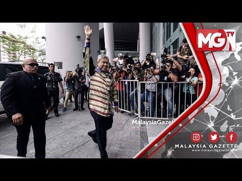 TERKINI : Zahid Hamidi Ceria ketika Serah Diri di SPRM