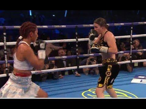 ANAHI SANCHEZ vs KATIE TAYLOR WBA TITLE - FULL FIGHT REVIEW!!