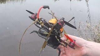 Как Я Утопил 180-Й Квадрокоптер И Камеру Runcam 2