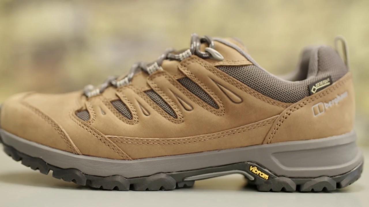 Berghaus Kanaga GTX Walking Shoes - YouTube
