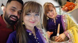 MY BRITISH WIFE MAKES JALEBI | Crispy Jalebi Recipe *EID MUBARAK*