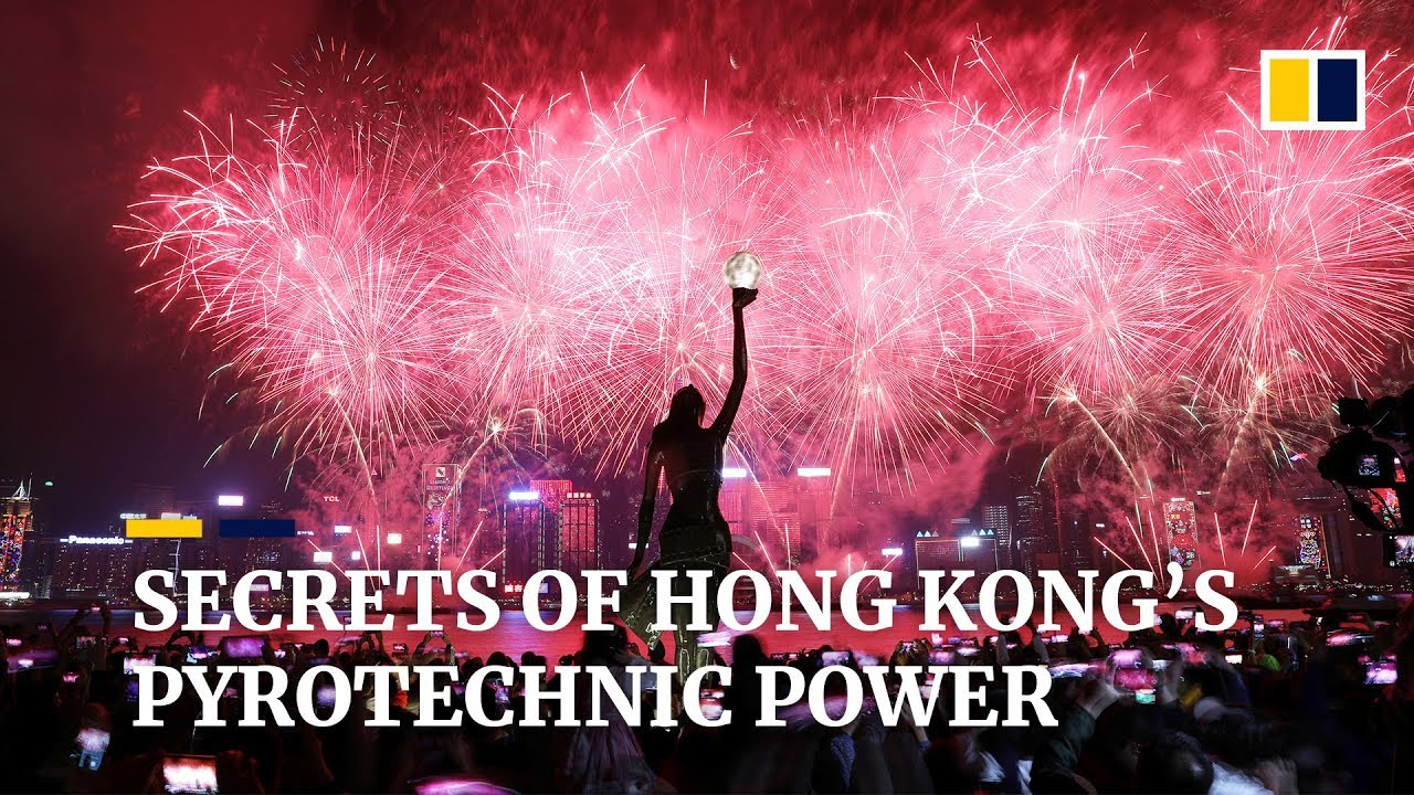 Secrets of Hong Kong's pyrotechnic power