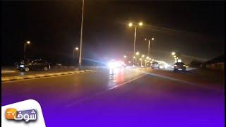 بث مباشر من مكان الحادثة. كاميرا سيارة ولد الفشوش تكشف تفاصيل مقتل دركي الهرهورة .