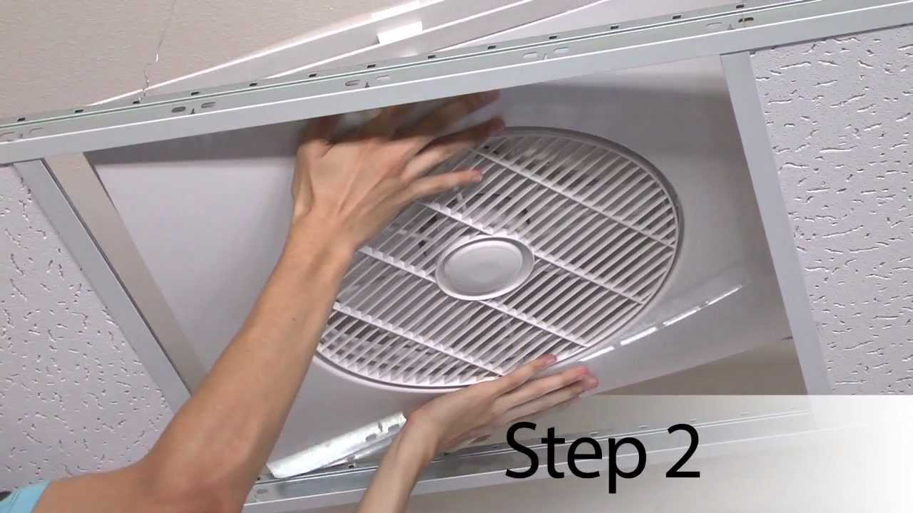 Exhaust Ceiling Suspended Fan