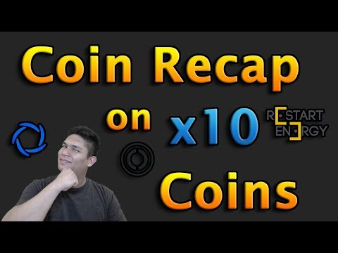COIN RECAP ON EASY 10X COINS