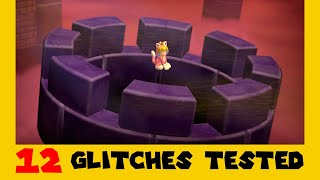 12 Old Glitches Tested in Super Mario 3D World + Bowser's Fury (Part 2)