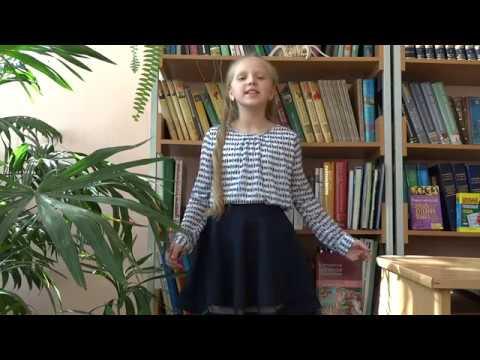 Изображение предпросмотра прочтения – ВикторияСанникова читает произведение «Она сидела наполу…» Ф.И.Тютчева