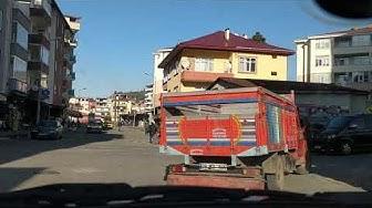 Türkische kleinstadt Hopa kurz vor der Georgischen Grenze