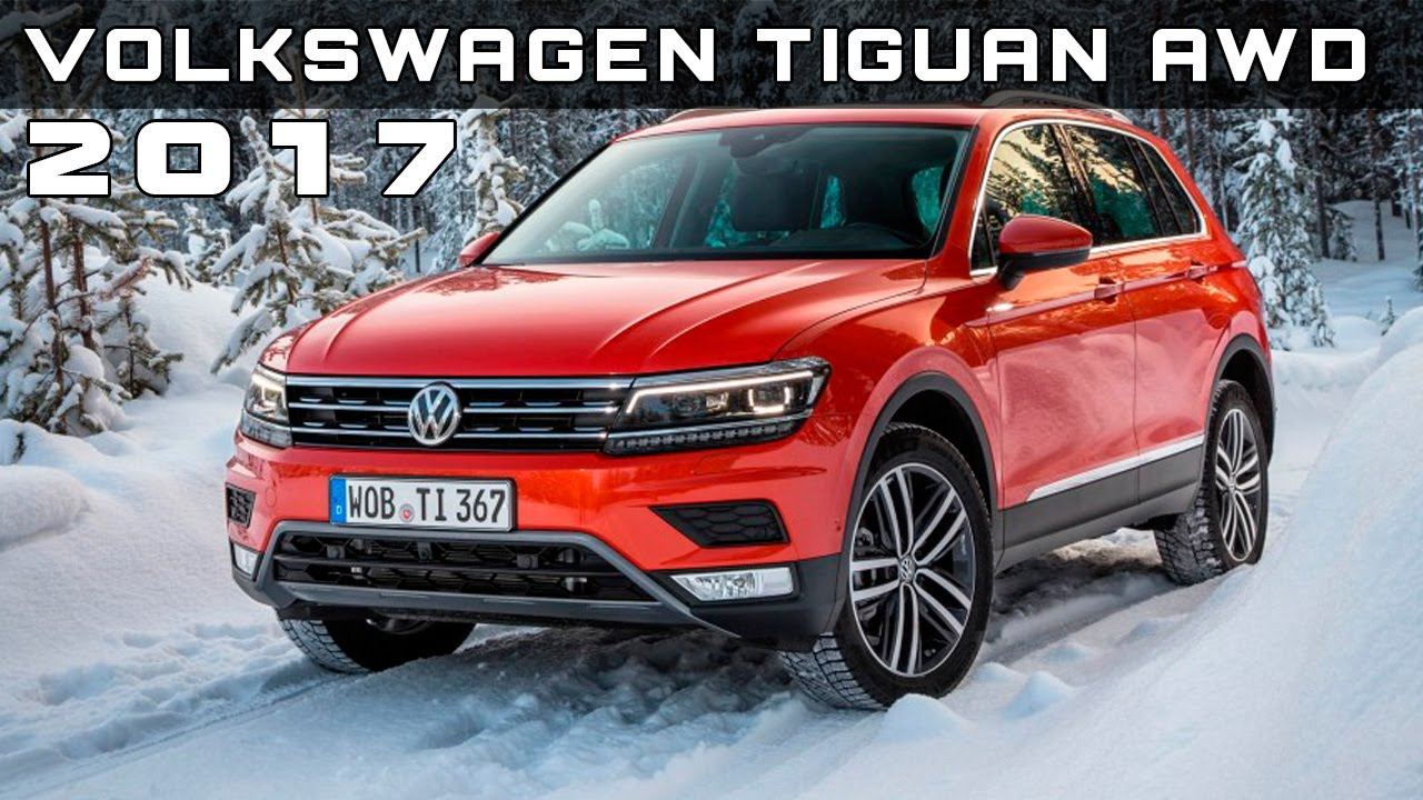 2017 Volkswagen Tiguan Prototype Euro Spec Review Rendered Price Specs Release Date